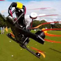 Spektakuläres Drohnen-Rennen an der EXPO8320